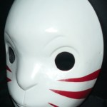 Anbu Leaf Village 1 Cosplay Mask Rear Side