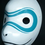 Anbu Leaf Village 4 Cosplay Mask Left Side