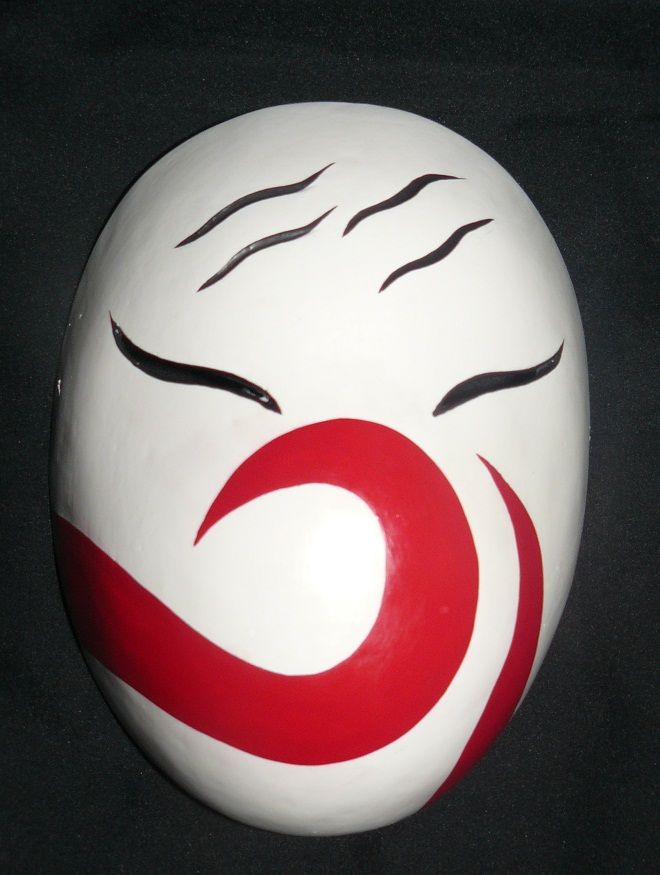 Anbu Mask Haku anbu cosplay mask frontHow To Make A Anbu Mask