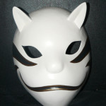 Kakashi Anbu Cosplay Mask Front side