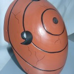 Tobi Naruto Version. 3 Cosplay Mask Right Side