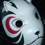 Yamato Anbu Cosplay Mask Right Side