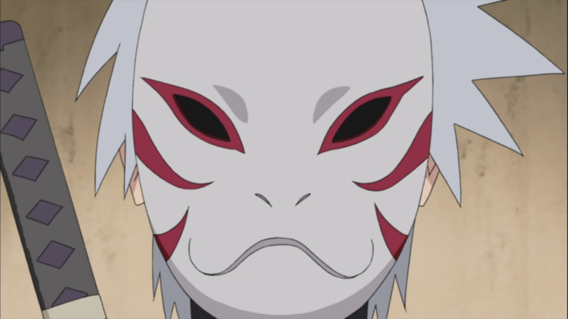 Kakashi Anbu Mask Red | Cosplay Mask - The Best Quality ...
