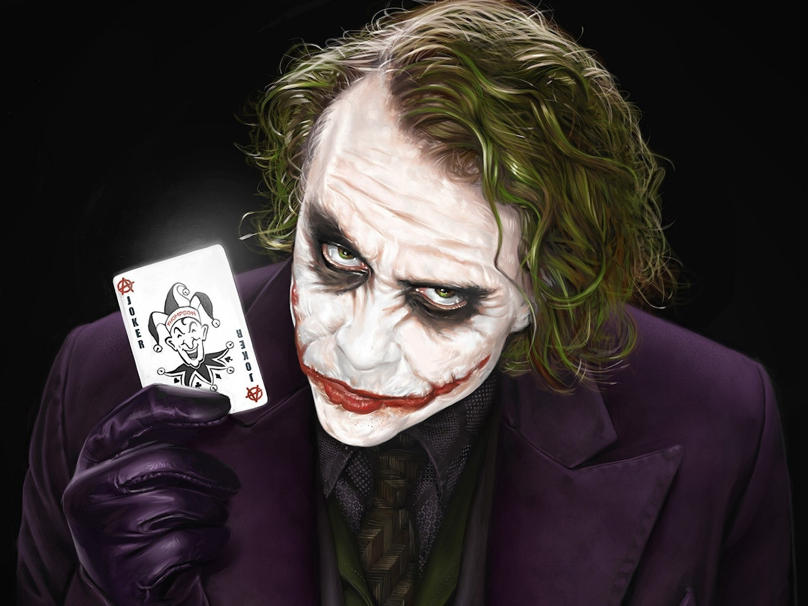 Batman Arkham City Joker Heath Ledger