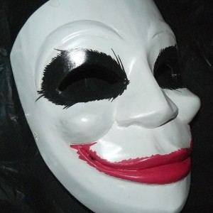 Joker Batman Mask Right Side